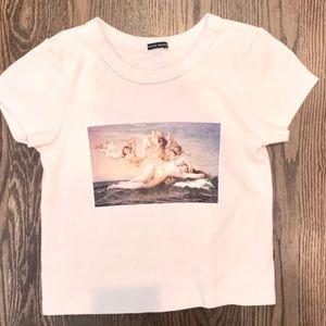 NWOT Brandy Melville Angel Shirt